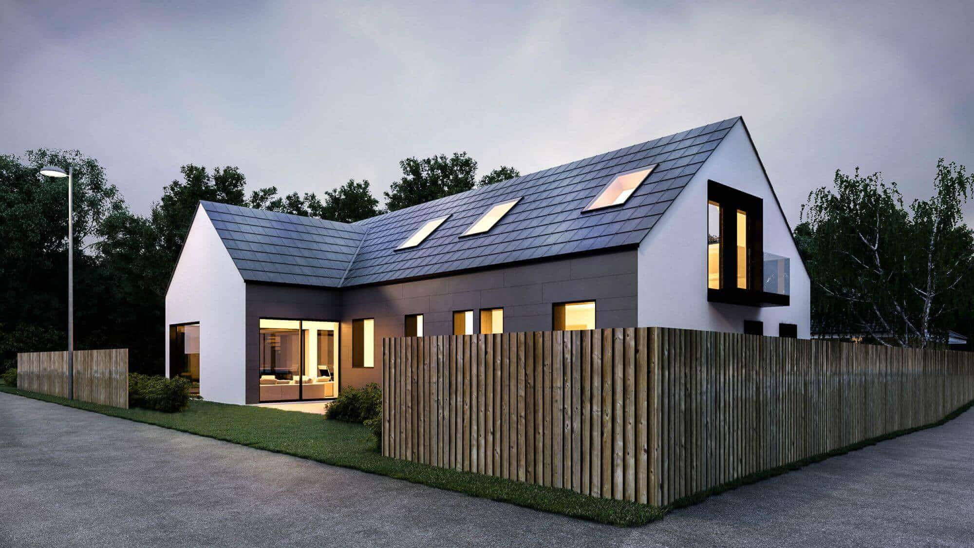 Mesmerizing Scandinavian Home Exterior Designs Ideas - The Architecture Designs