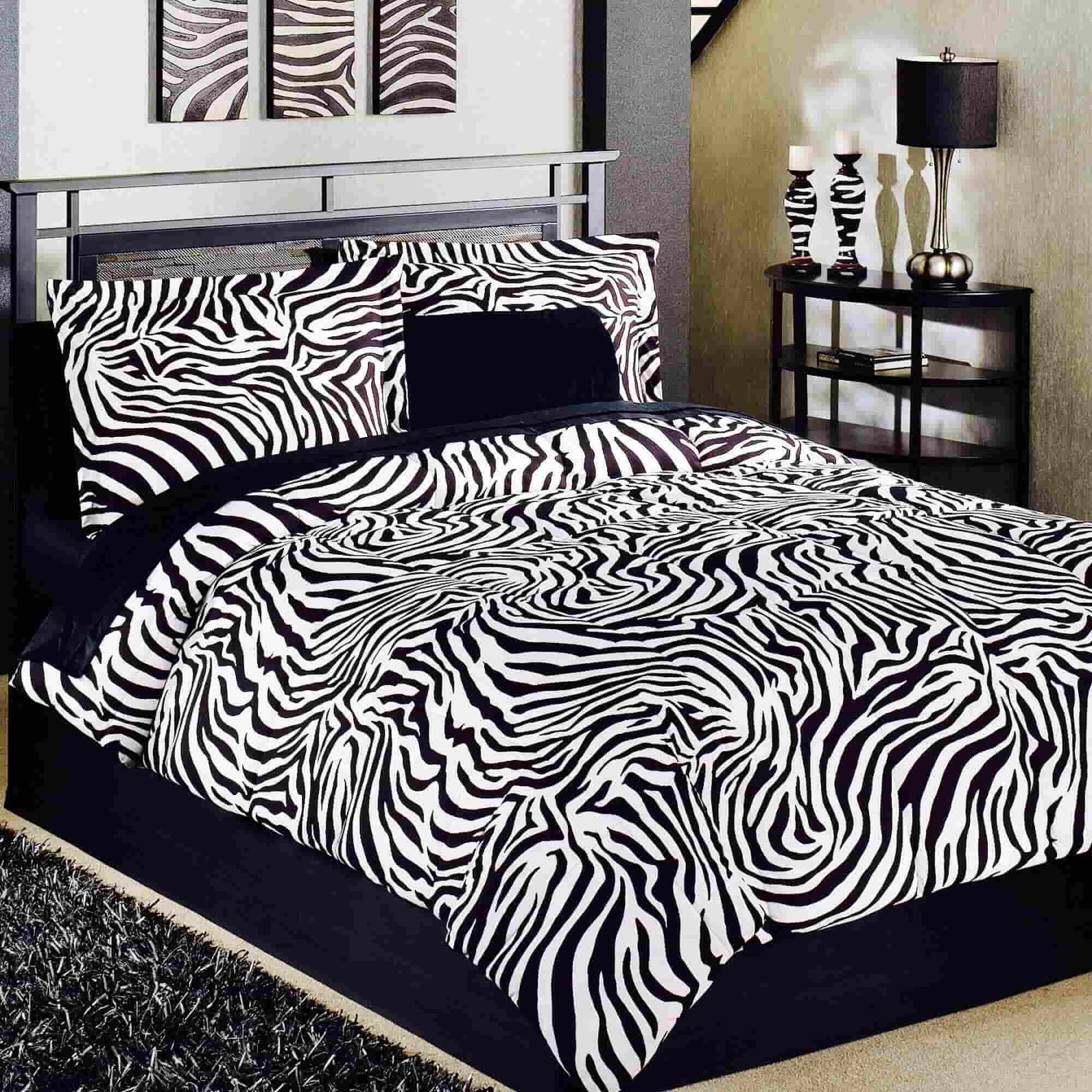 Teenage Zebra Bedroom Designs Ideas