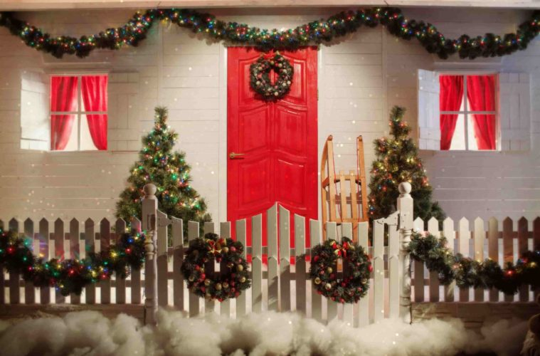 Mesmerizing Door Decoration Ideas For Christmas The Architecture Designs