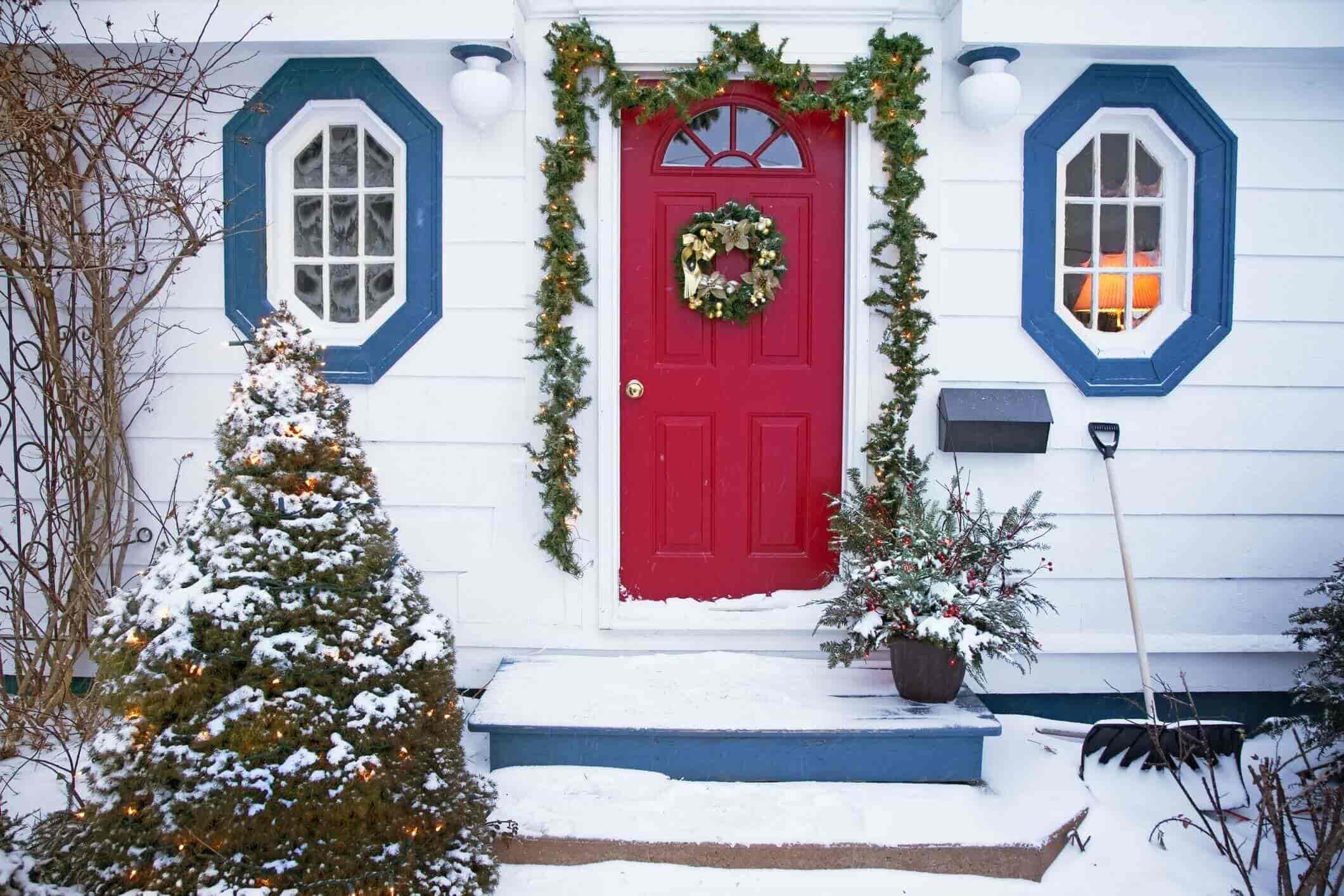 Door Decoration Ideas for Christmas