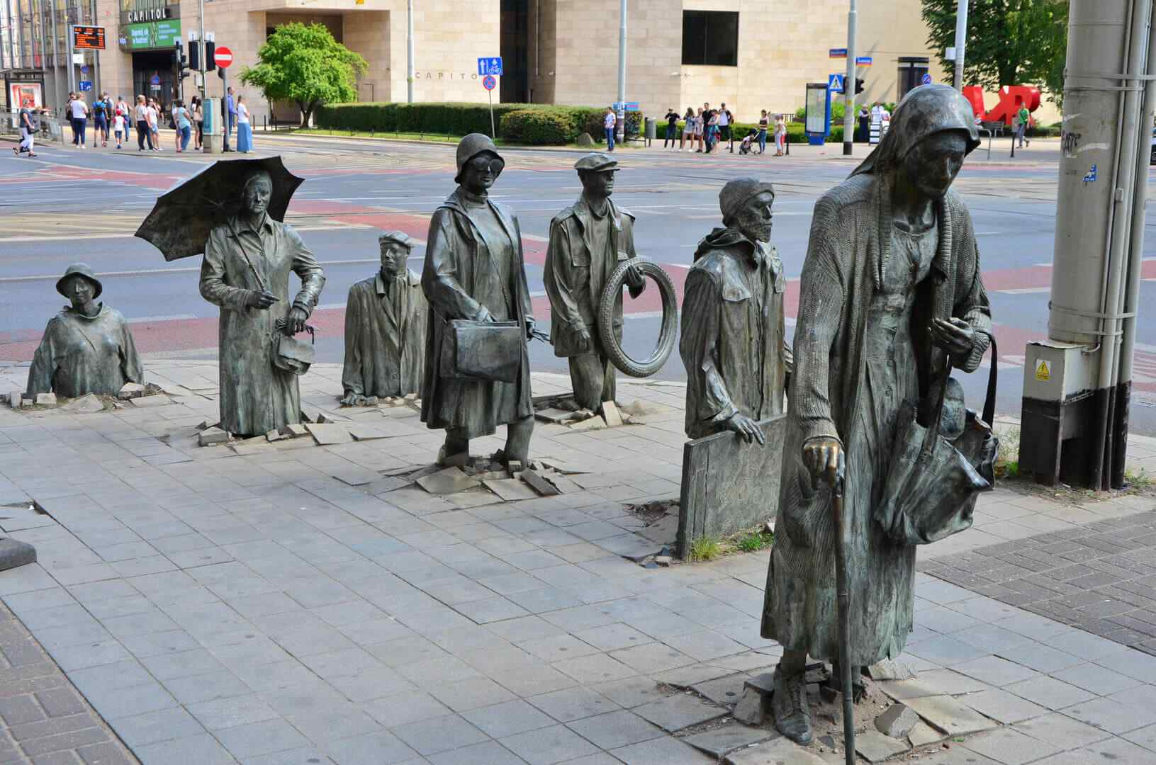The Monument Of An Anonymous Passerby by Jerzy Kalina