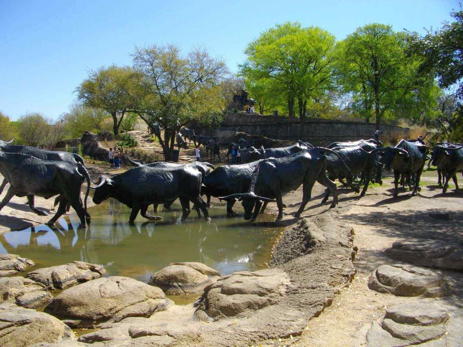 Cattle Drive by Robert Summers