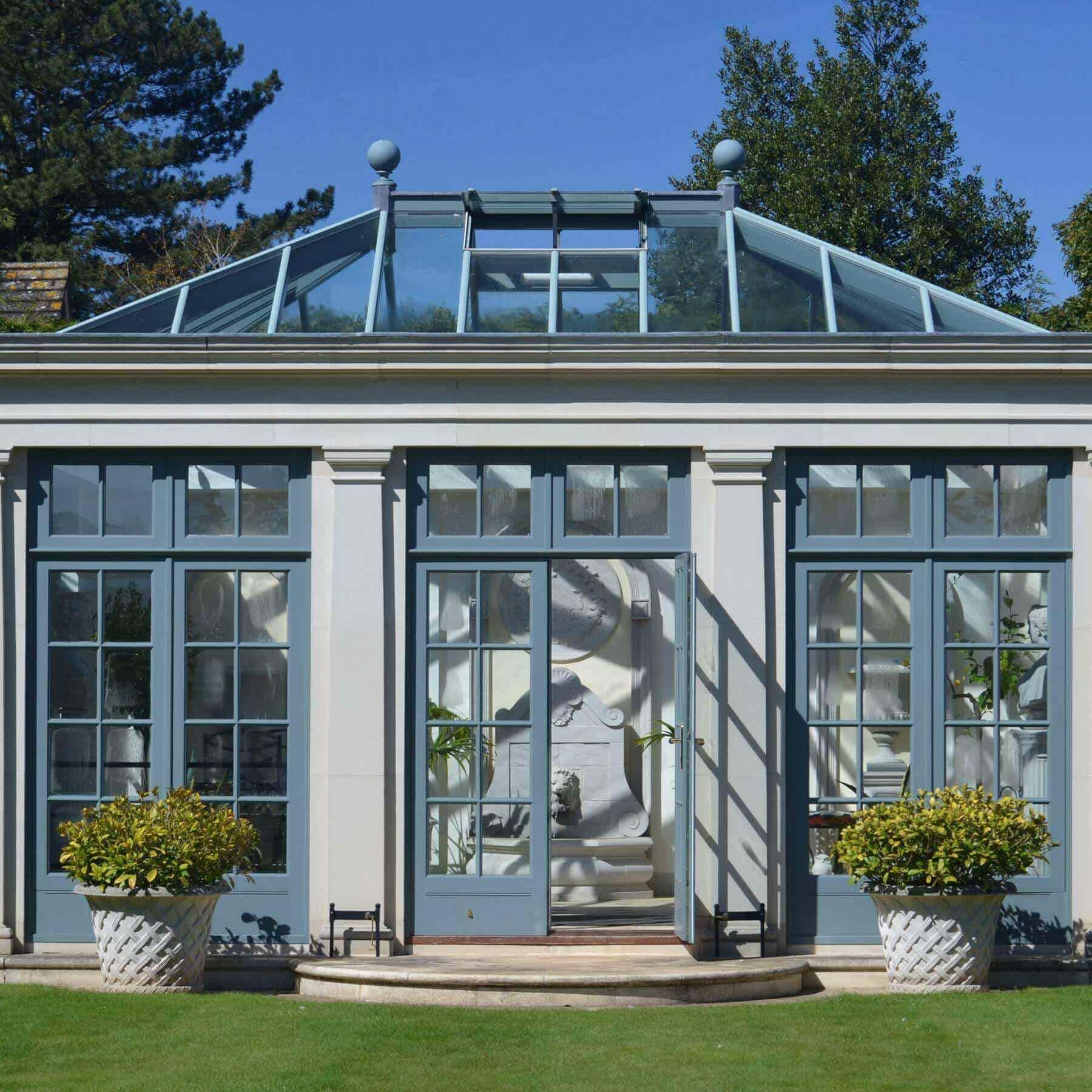 Beautiful Glass House Architecture