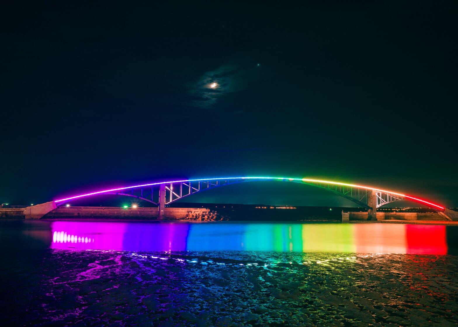 Xiying Rainbow Bridge, Taiwan