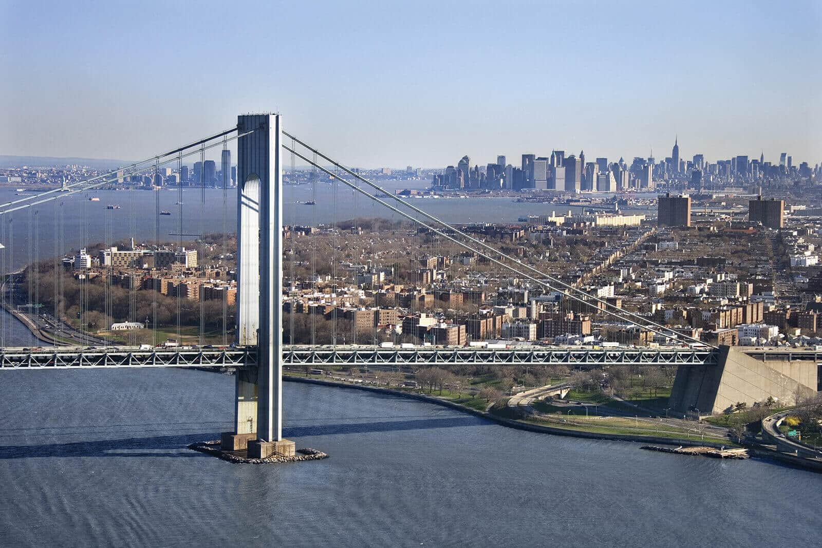 Verrazano Narrows Bridge, New York