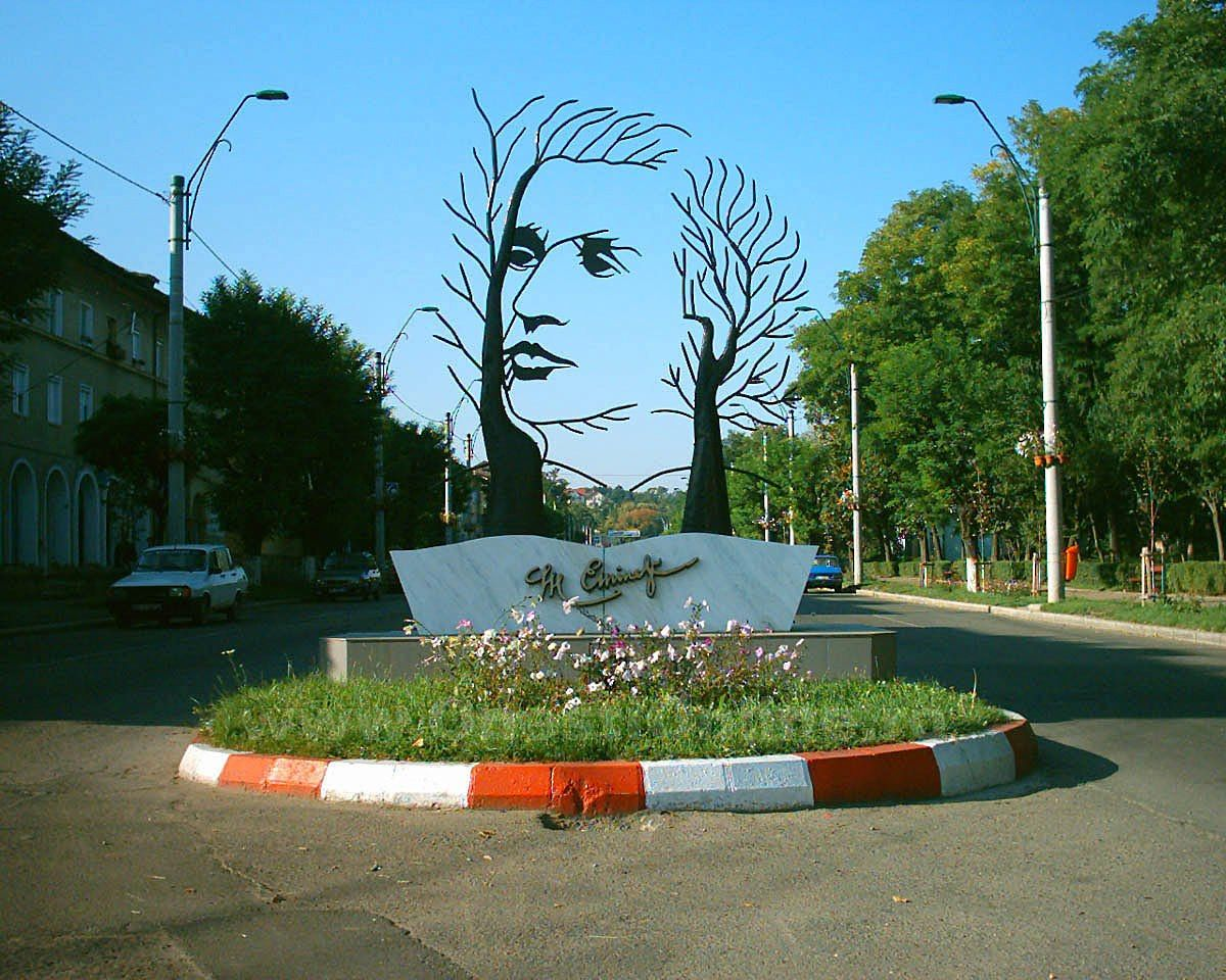 Monument to Mihai Eminescu