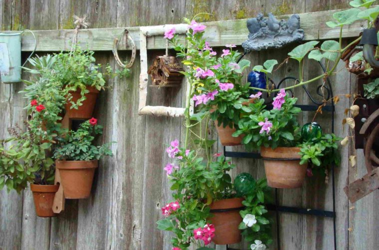 Amazing Ideas To Decorate Your Garden Fence The Architecture Designs