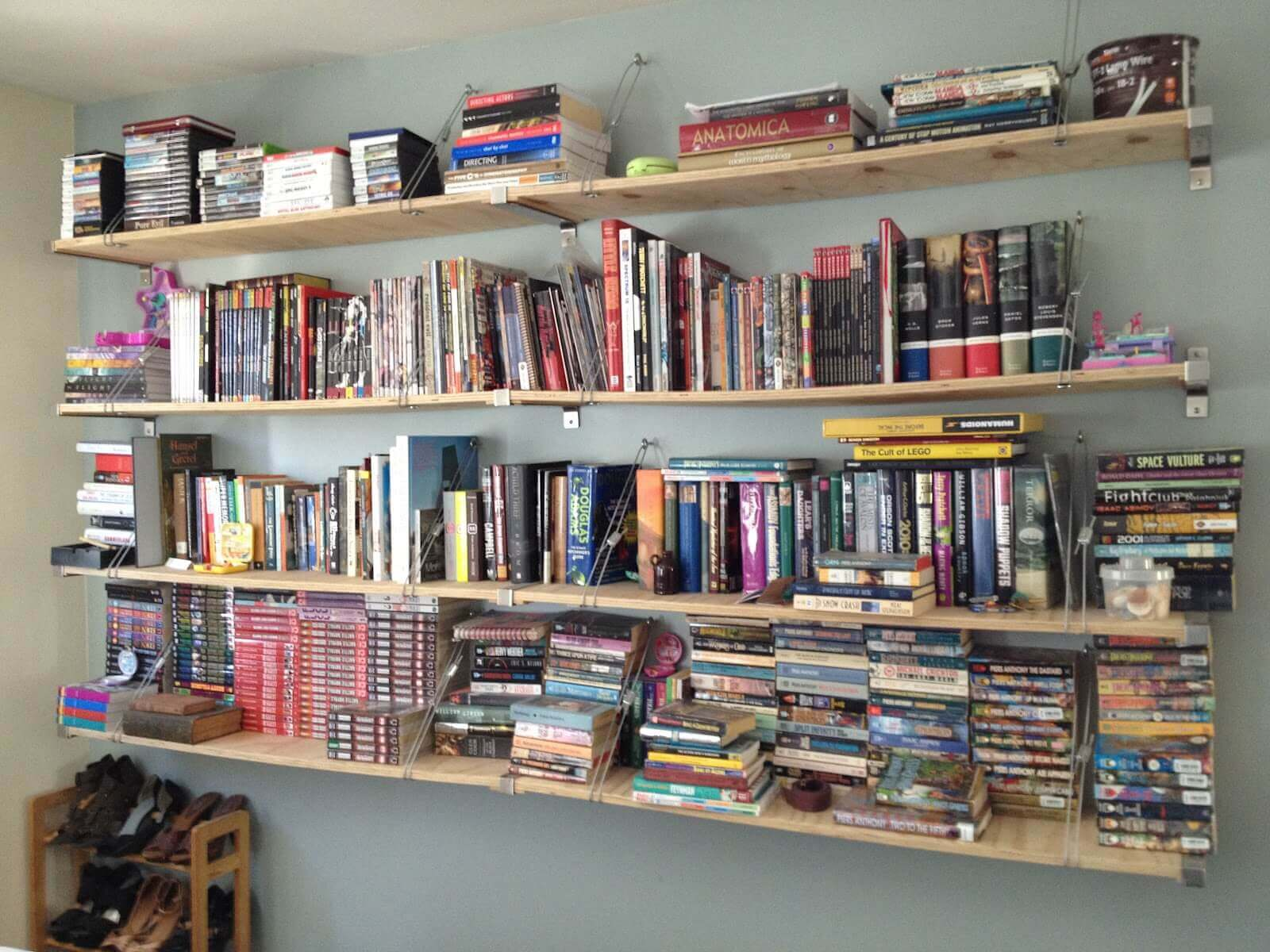 Bookcase and Bookshelf