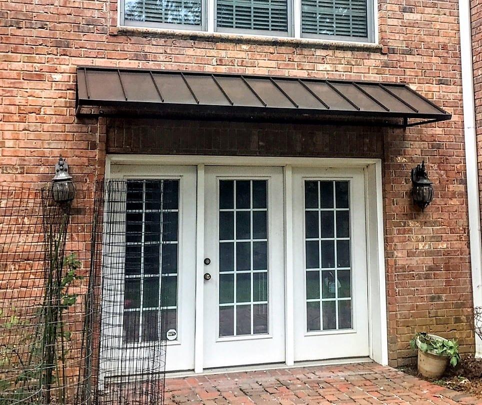 Mesmerizing Door Awnings Design for the Front Door - The ...