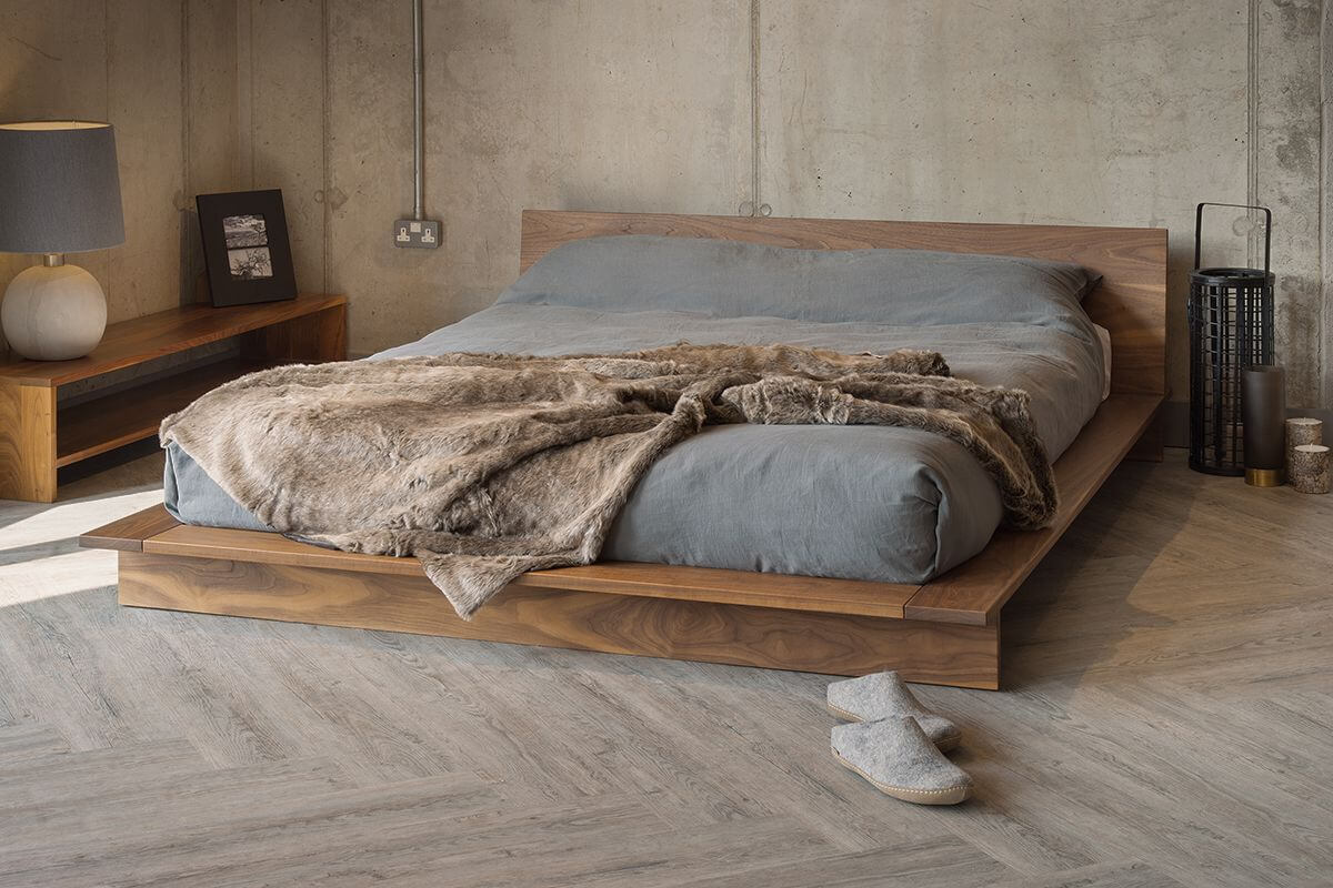 Low Height and Floor Bed