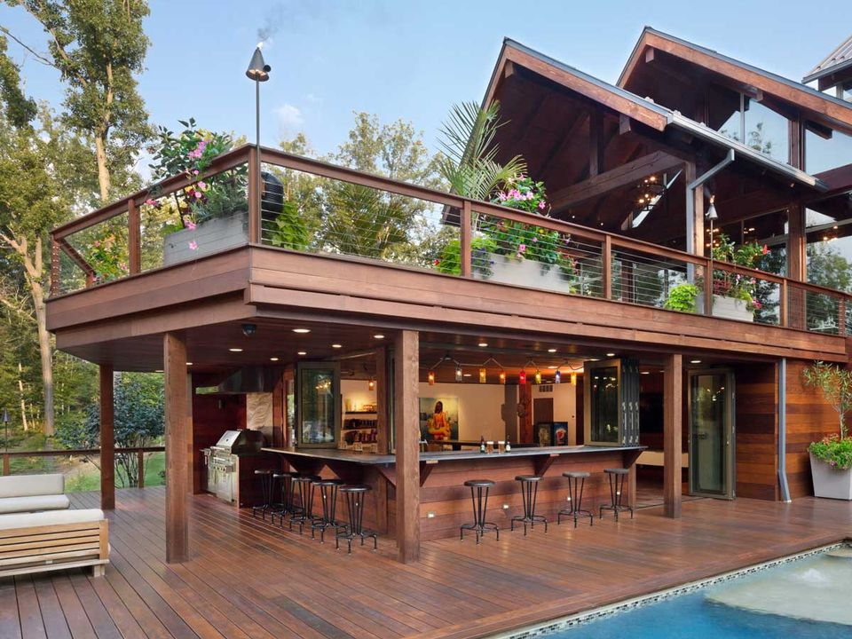 Inspiring and Smart Outdoor Bar Design Ideas - The ... on Backyard Bar id=70061