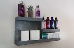 Bathroom Cabinets and Shelf Design