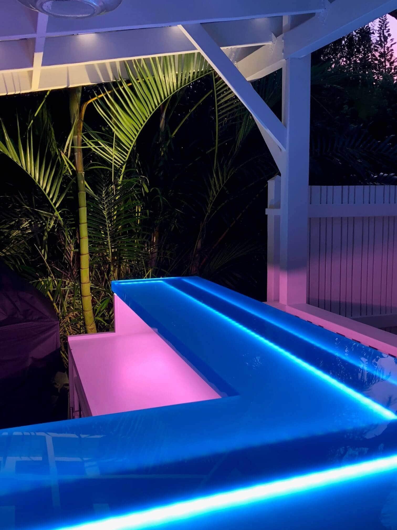 Blue Resin Bar