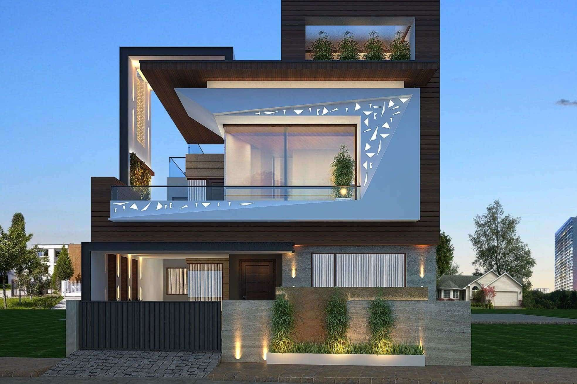 Stunning Modern House Plan And Design Ideas The Architecture Designs