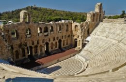 Odeon of Herodes Atticus, Acropolis