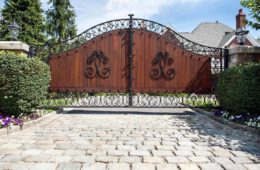 Fencing and Wooden Gate