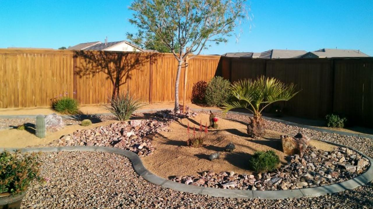 Decorative Ideas For Landscape Gravel Garden Design The