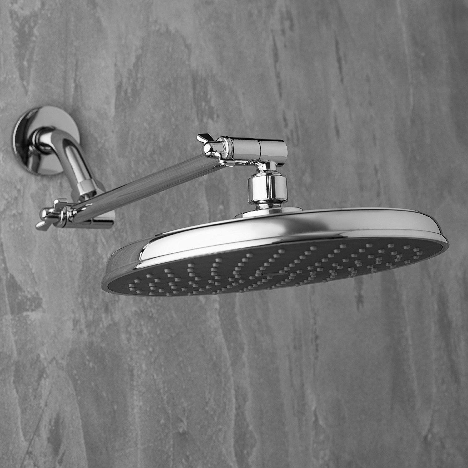 Picture of: A Guide To Select The Best Shower Head Extension The Architecture Designs