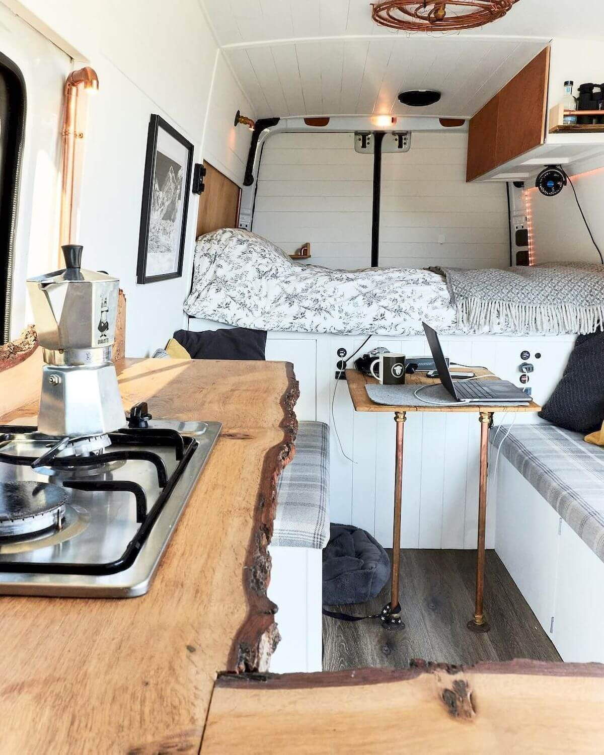 van interior design