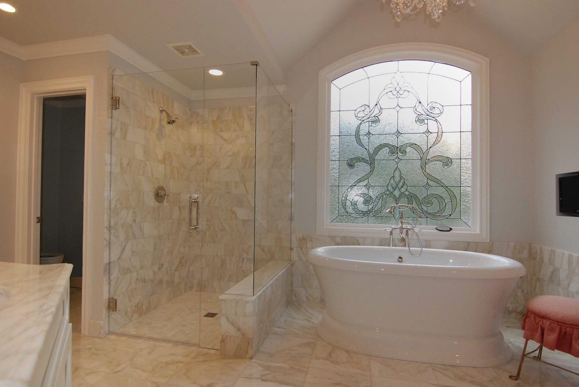 Frame-less Glass Shower Doors