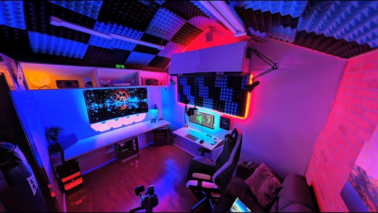 Mesmerizing Gaming Room Interior Designs Ideas The Architecture Designs