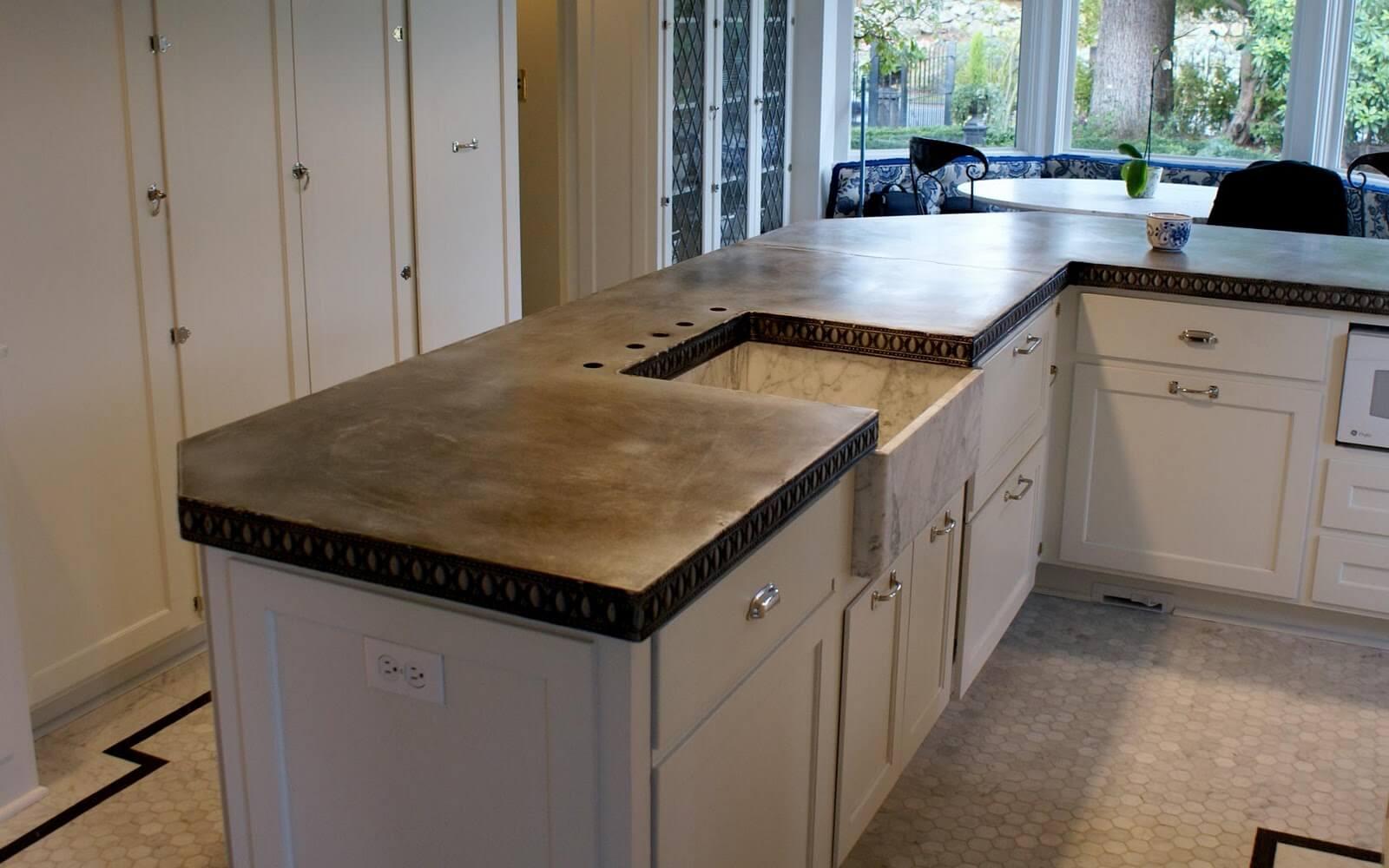 Get Zinc Countertops