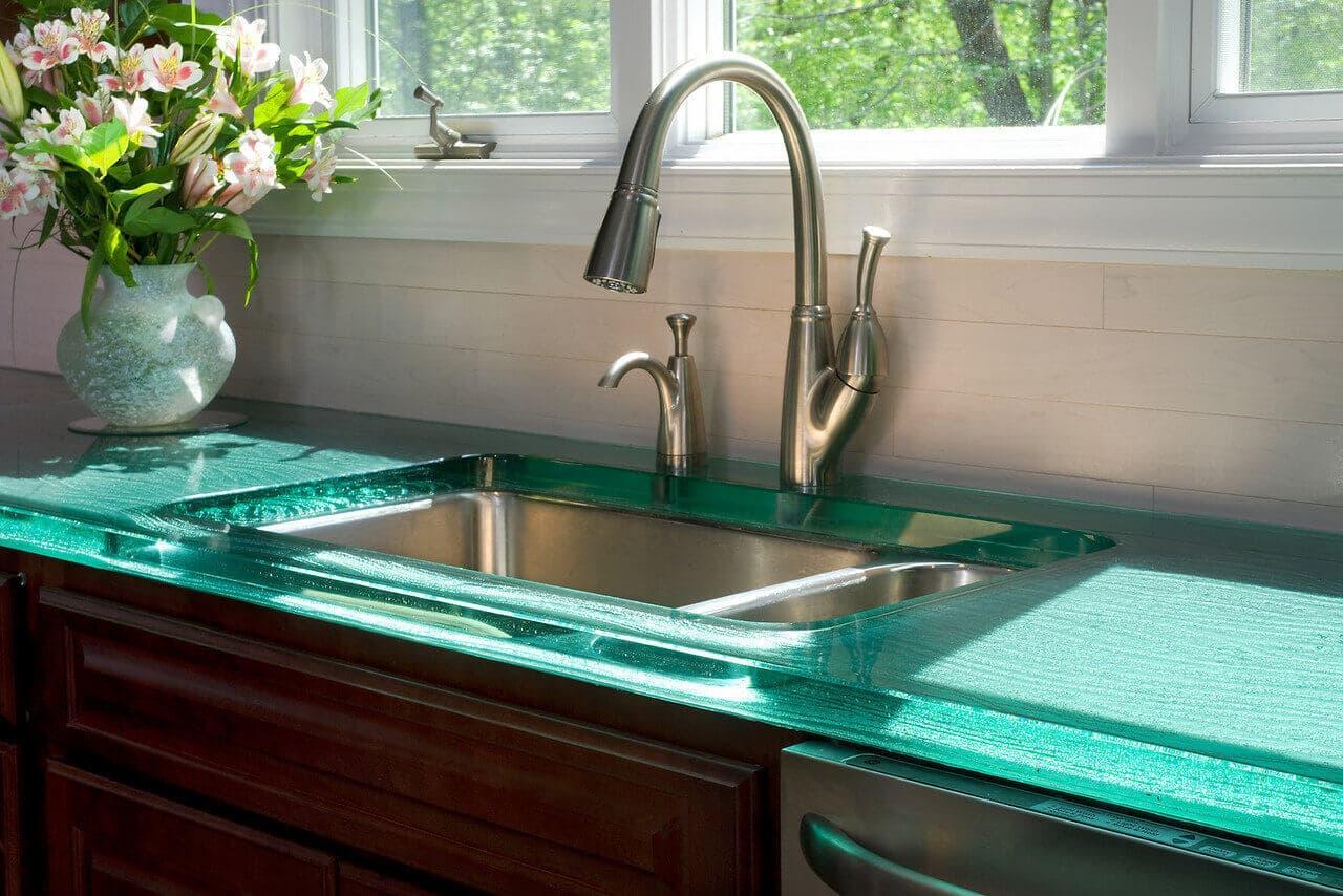 GlassTopped Countertops