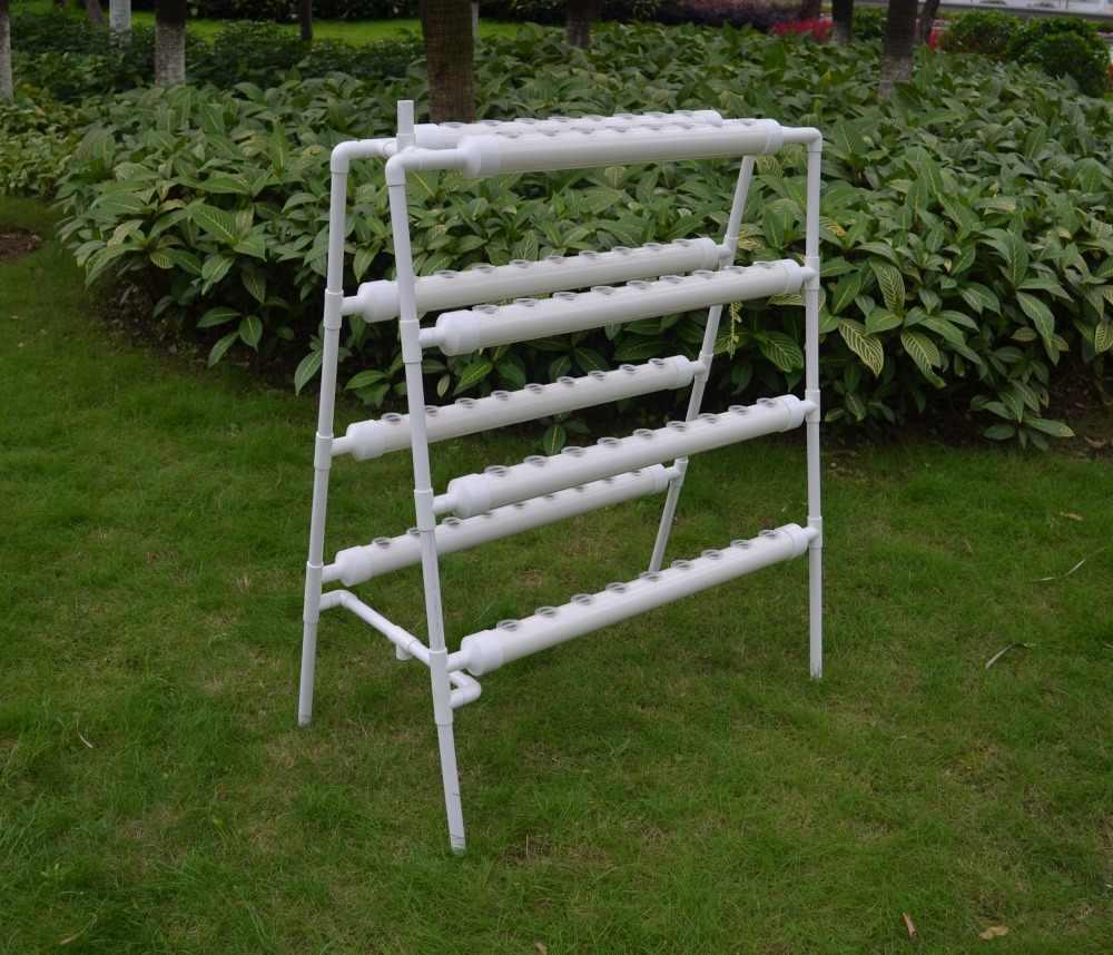 PVC Pipe Planter