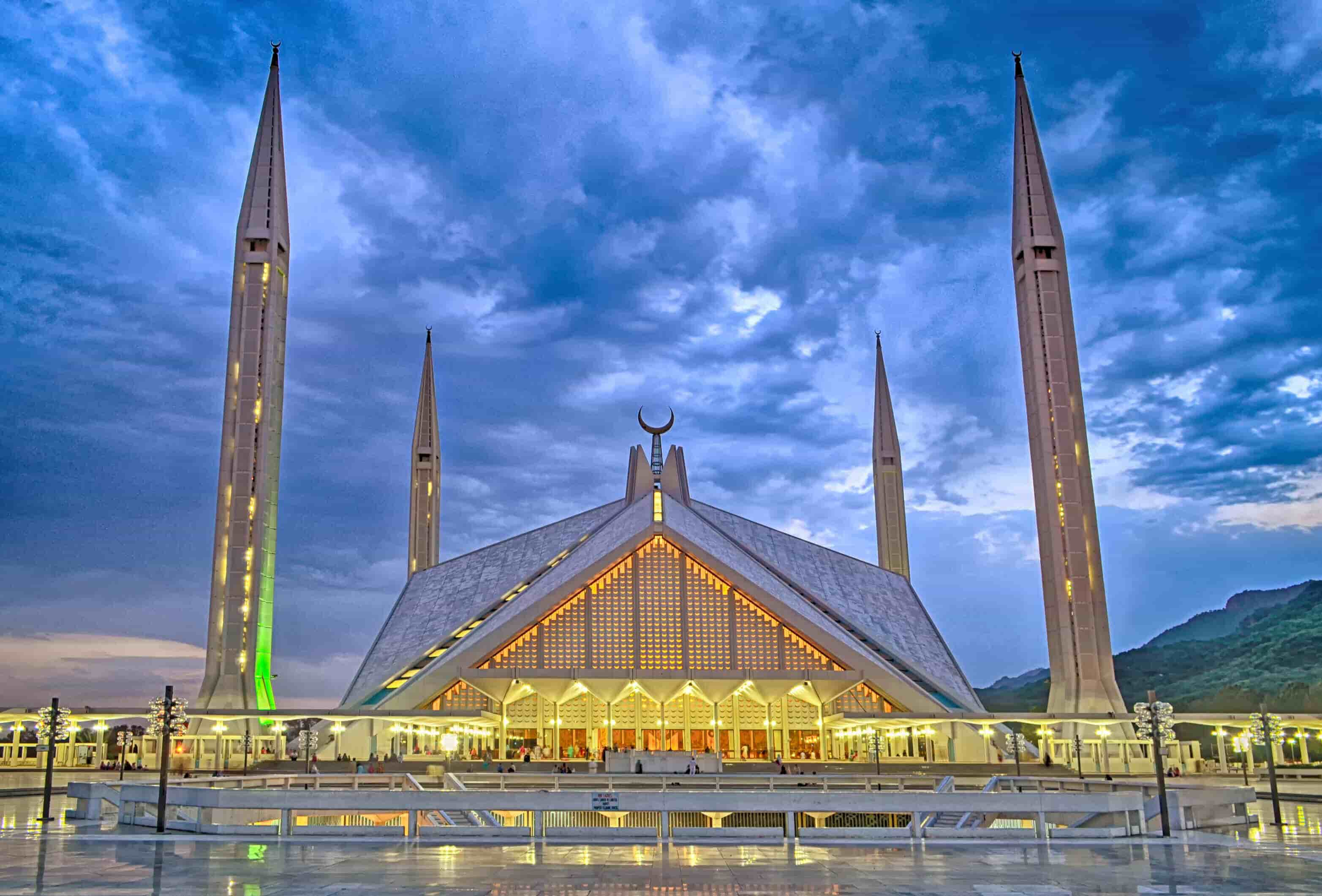 Shah Faisal Mosque Pakistan