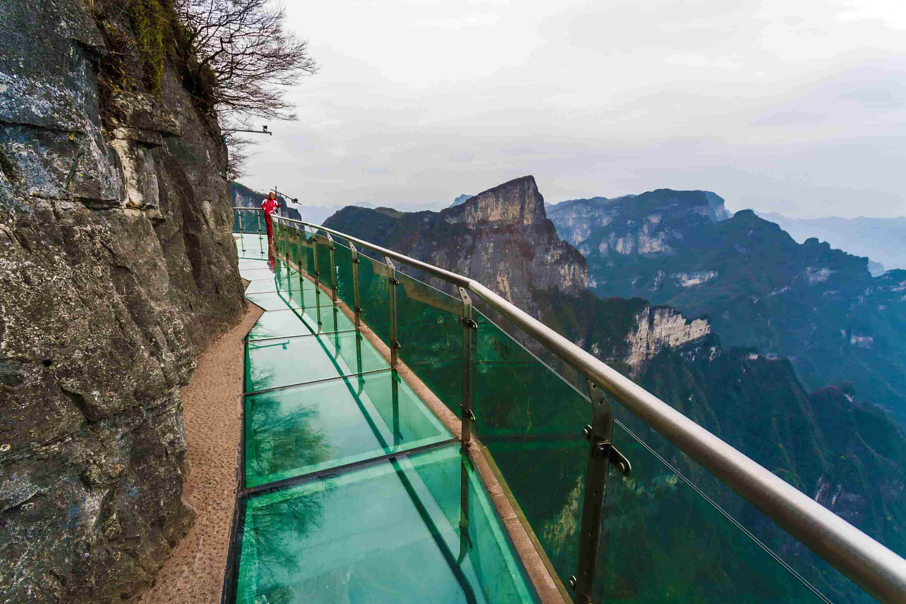 Tianmen Mountain Glass Skywalk