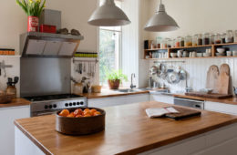 Use Modern Wood Countertops