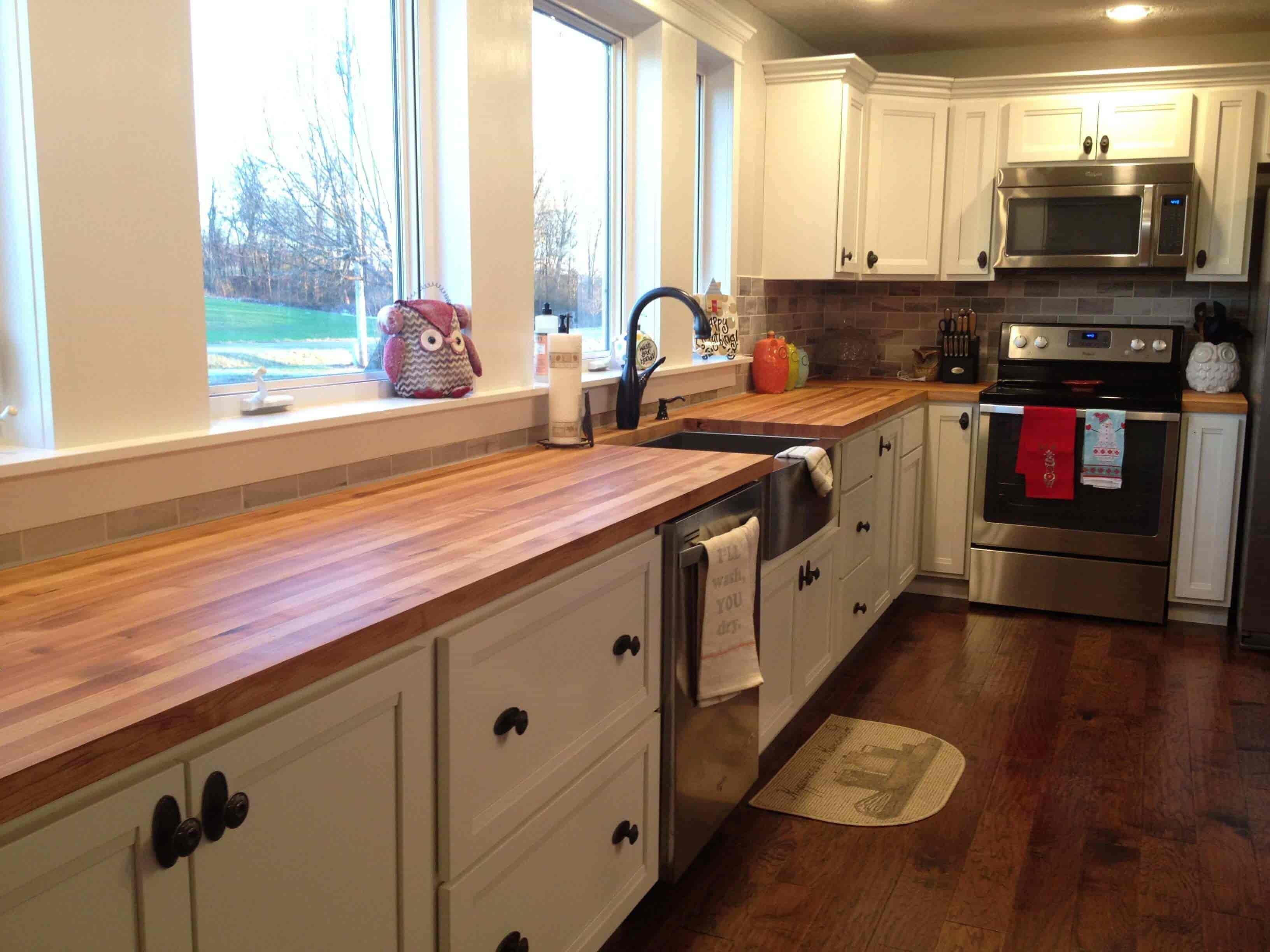 Use Modern Wood Countertops