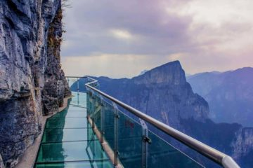 Yuntai Mountain Glass Walkway