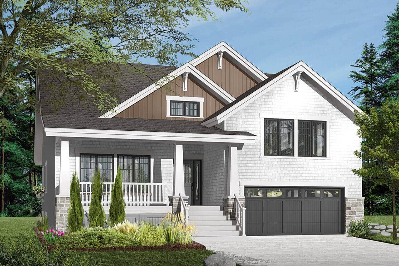 Craftsman house design