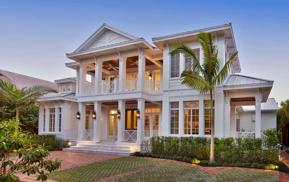 southern colonial House Designs 15
