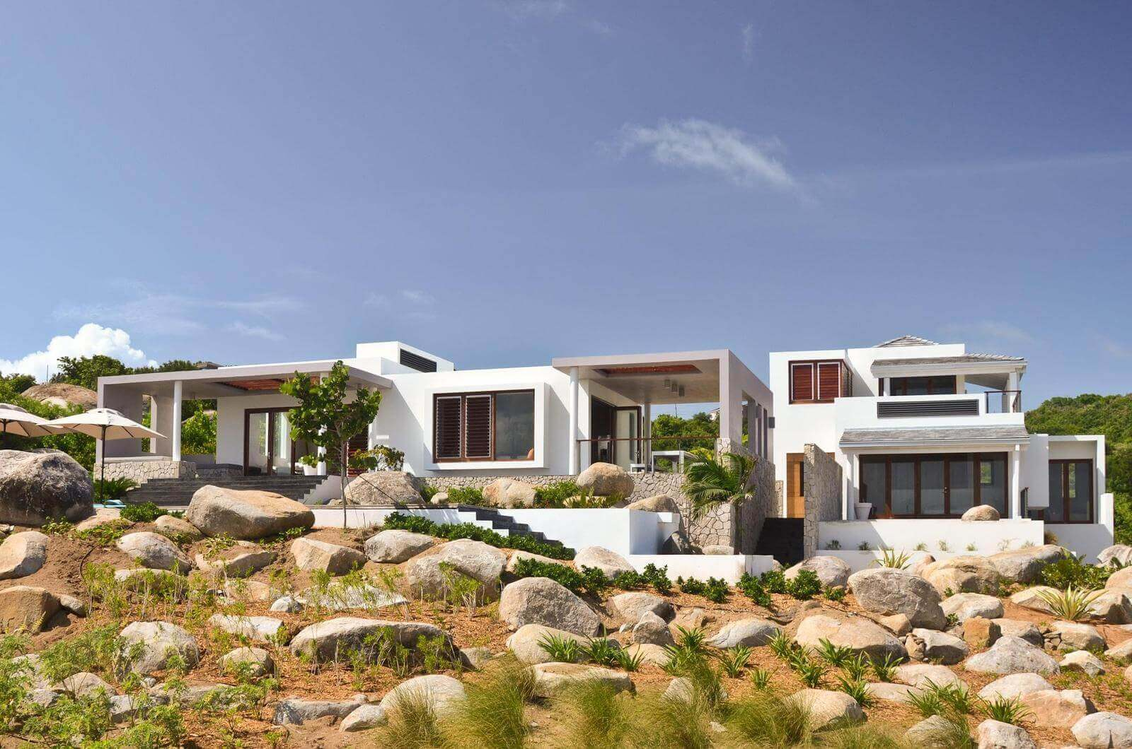 Bayhouse Villa on Virgin Gorda, British Virgin Islands