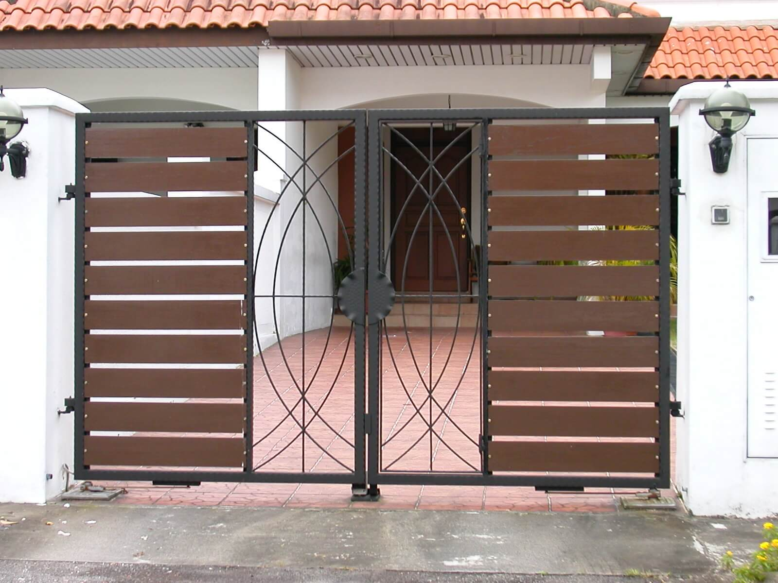 Front gate for home