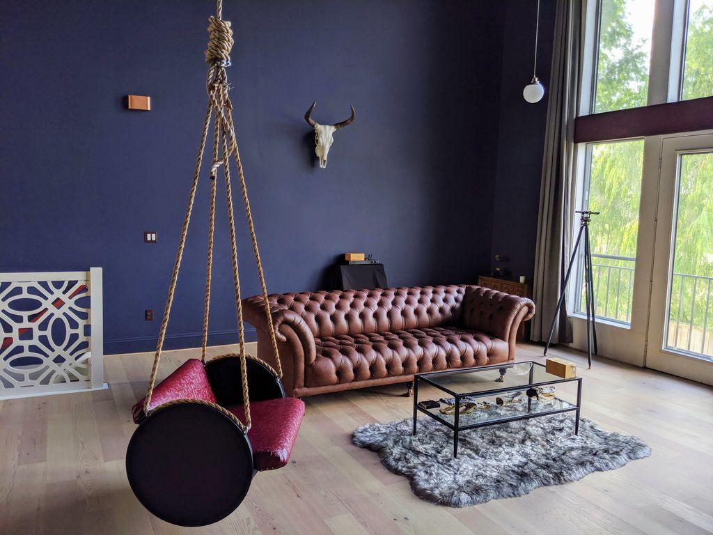Modern Indoor Swing