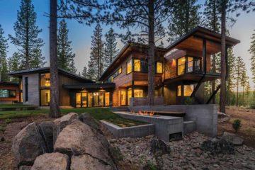 Modern Mountain Home in Truckee, California