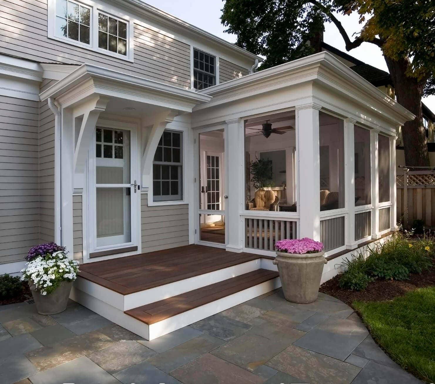 Home Design Ideas Front: Unique And Decorative Front Porch Design Ideas