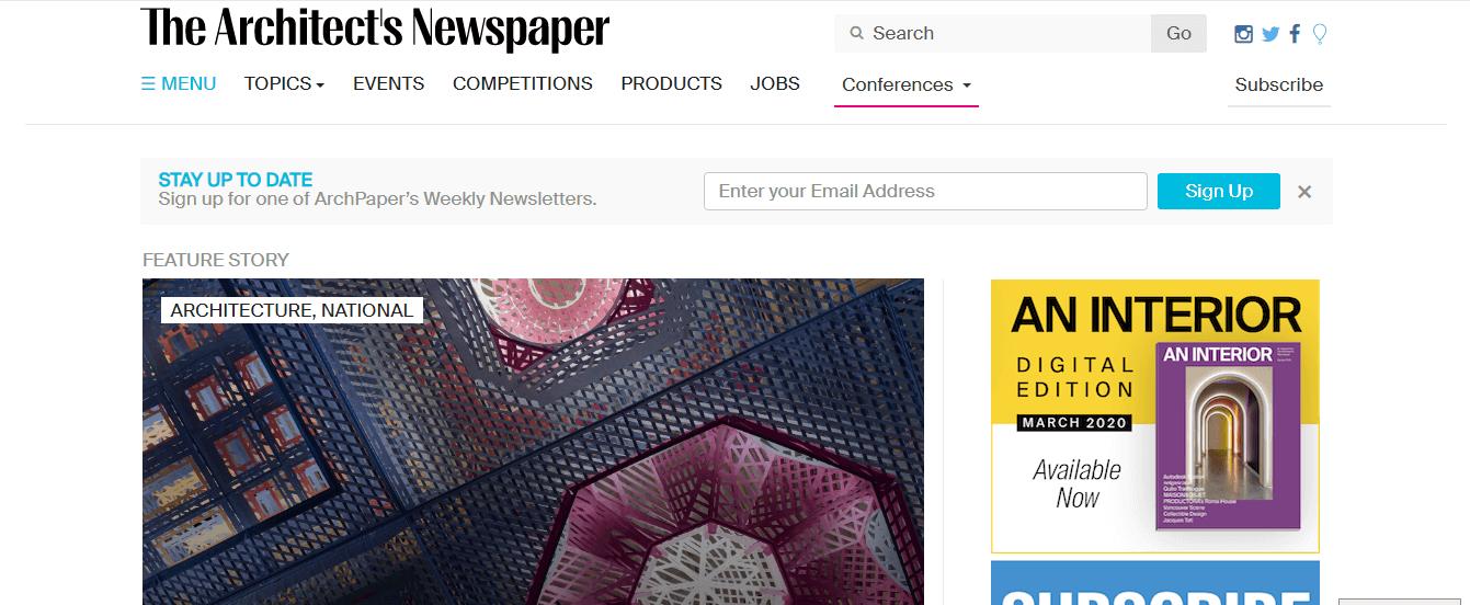 architects newspaper nofollow