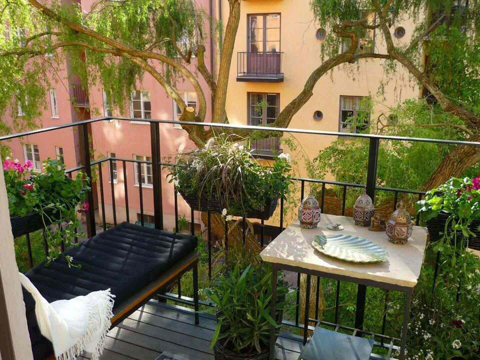 Balcony Decoration Design