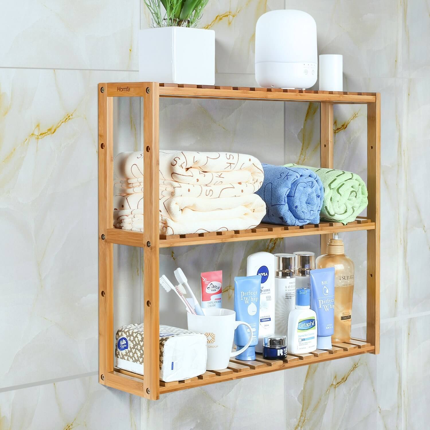 bathroom shelf racks