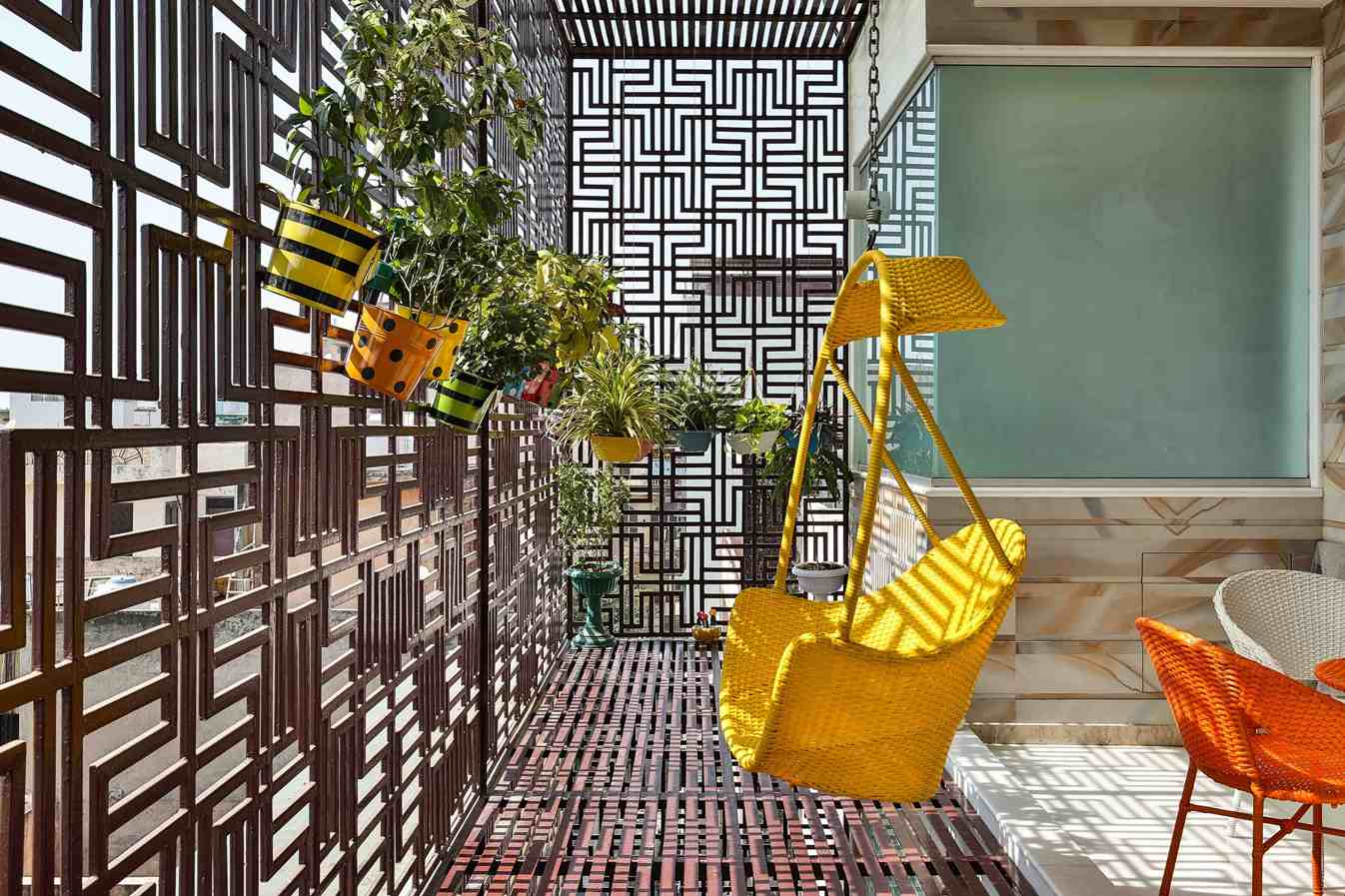 Grill Design for Balcony and Terrace