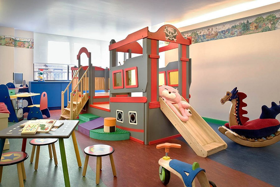 kids playroom design