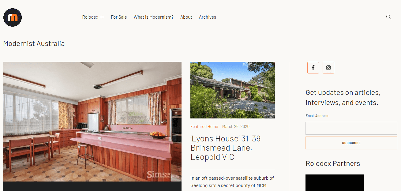 modernist australia