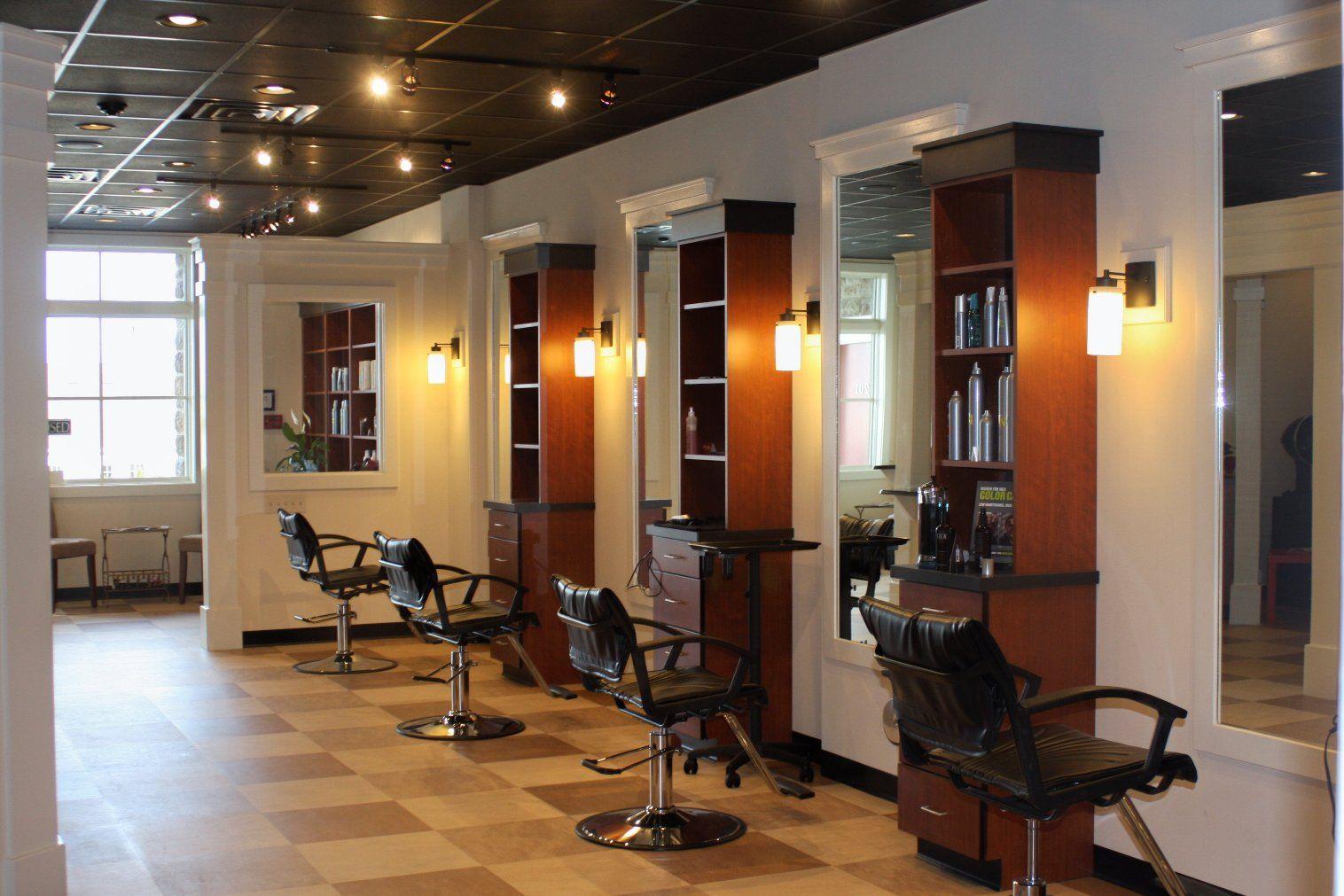 Beauty Salon Interior Decorating and Design Ideas