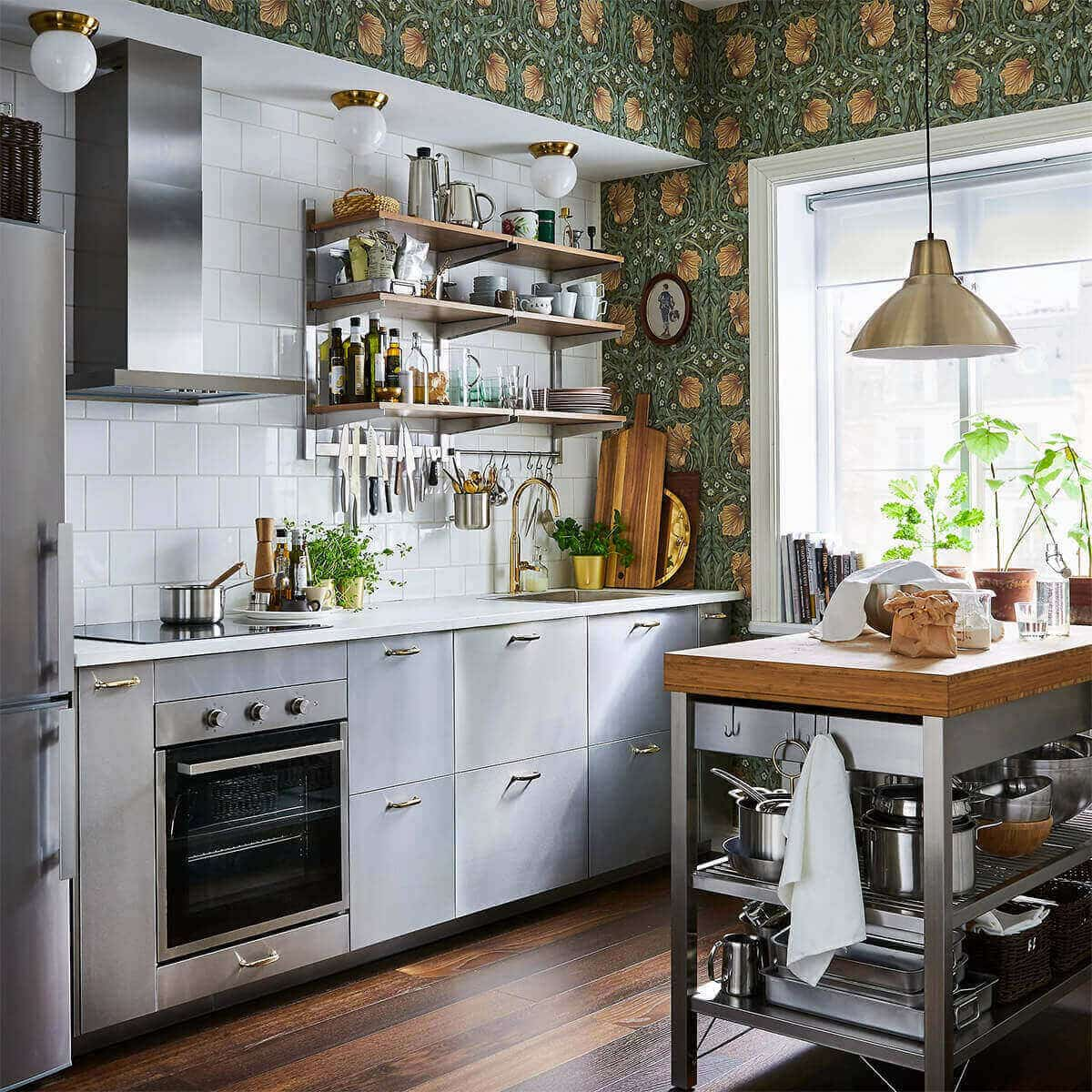 Modern Small Kitchen Design Ideas For Small House