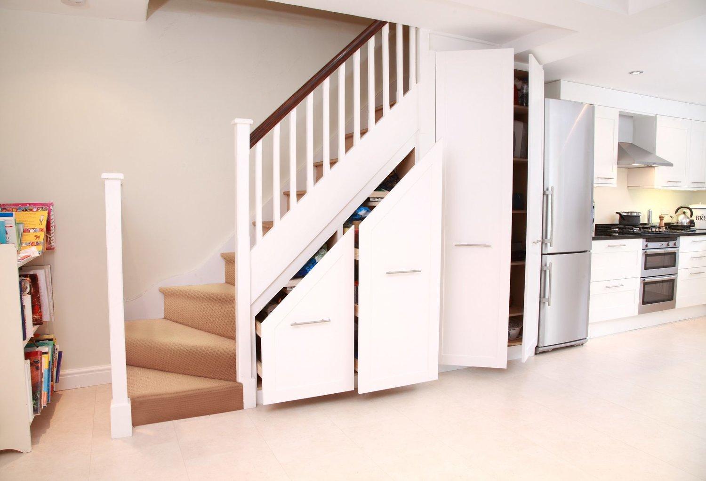 space under stair