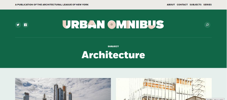 urban omibus